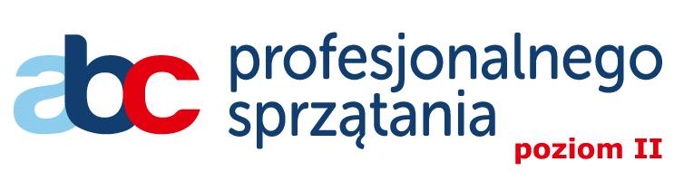 Logo ABC profesjonalnego sprzątania poziom II